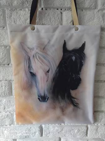 Torba - dwa konie
